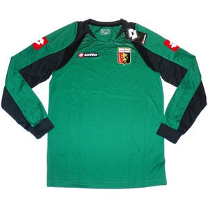2012-13 Genoa Player Issue Green GK Shirt *w/Tags* XXL