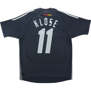 2002-03 Germany Away Shirt Klose #11 (Very Good) L