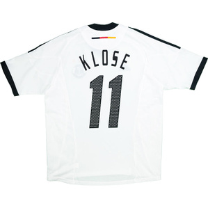 2002-04 Germany Home Shirt Klose #11 *Mint* L
