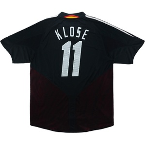 2004-06 Germany Away Shirt Klose #11 (Excellent) XL