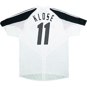 2004-05 Germany Home Shirt Klose #11 *w/Tags* L