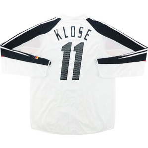 2004-05 Germany Player Issue Home L/S Shirt Klose #11 (Excellent) L