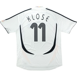 2005-07 Germany Home Shirt Klose #11 (Excellent) L