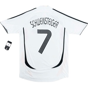 2005-07 Germany Home Shirt Schweinsteiger #7 *w/Tags* L