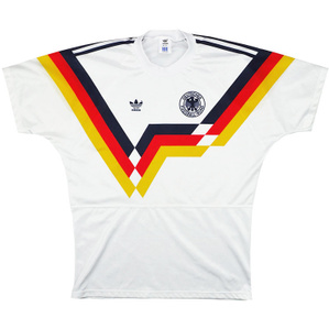 1990-92 West Germany Home Shirt (Very Good) M