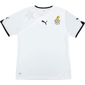 2010-11 Ghana Home Shirt (Very Good) M