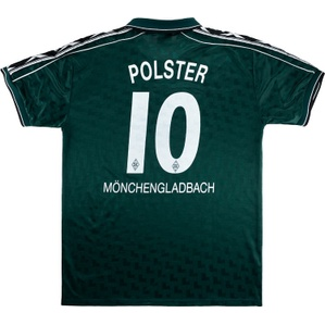 1998-99 Borussia Monchengladbach Away Shirt Polster #10 (Good) XL