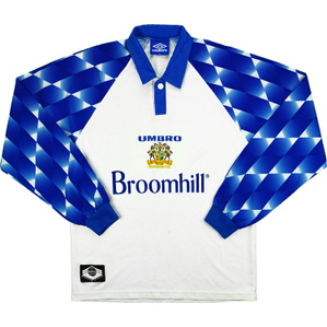 1997-98 Glenavon L/S Away Shirt L