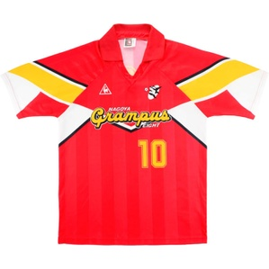 1992-94 Grampus Eight Home Shirt #10 (Lineker) (Excellent) L