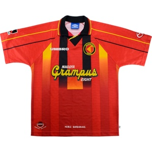 1996-98 Nagoya Grampus Eight Home Shirt (Very Good) L