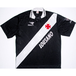 1995 Vasco da Gama Away Shirt #10 L