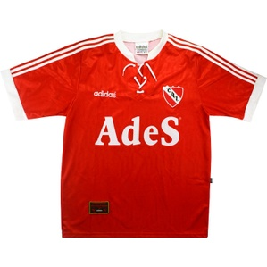 1994-95 Independiente Home Shirt *As New* XL