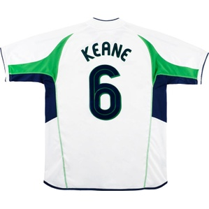 2002-03 Ireland Away Shirt Keane #6 (Very Good) S