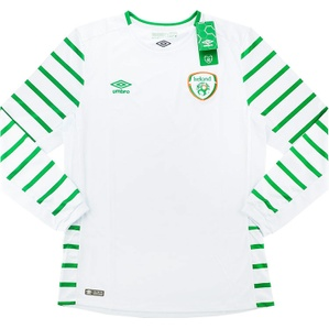 2016-17 Ireland Player Issue Away L/S Shirt *BNIB*