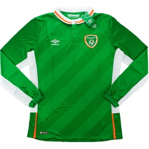 2016-17 Ireland Player Issue Home L/S Shirt *BNIB*