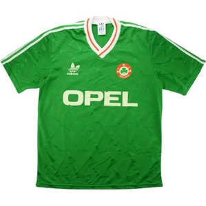 1990-92 Ireland Home Shirt (Good) L