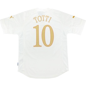 2004-06 Italy Away Shirt Totti #10 *w/Tags*