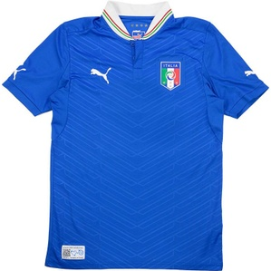 2012-13 Italy Home Shirt (Very Good) S