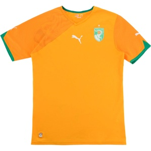 2010-11 Ivory Coast Home Shirt (Excellent) L