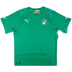 2014-15 Ivory Coast Away Shirt (Very Good) XXL