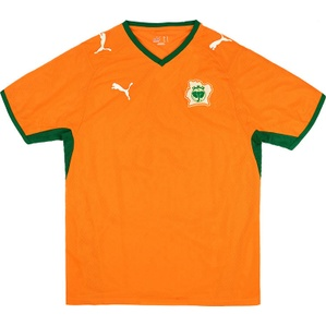 2008-09 Ivory Coast Home Shirt (Very Good) L
