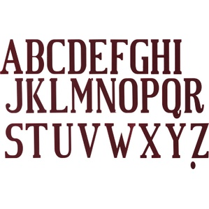 2016-17 Roma Away Junior Letters