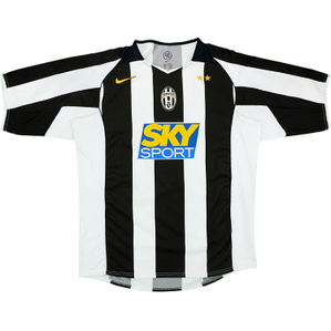 2004-05 Juventus Home Shirt (Very Good) M