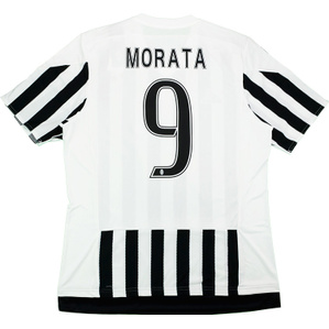 2015-16 Juventus Home Shirt Morata #9 *w/Tags*