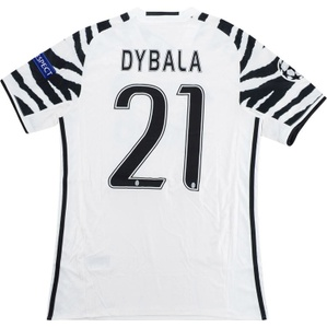 2016-17 Juventus CL Third Shirt Dybala #21 *w/Tags* S