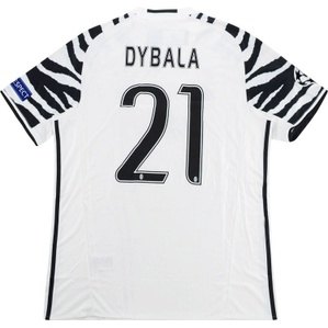 2016-17 Juventus CL Third Shirt Dybala #21 *w/Tags* L