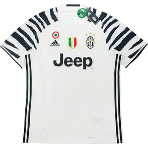 2016-17 Juventus Third Shirt *w/Tags* M