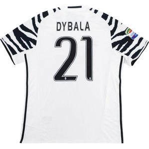 2016-17 Juventus Third Shirt Dybala #21 *w/Tags* L