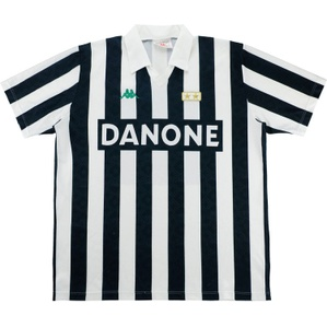 1992-94 Juventus Home Shirt (Very Good) L