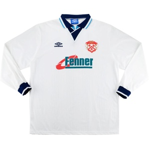 1995-97 Kettering Town L/S Away Shirt (Excellent) L