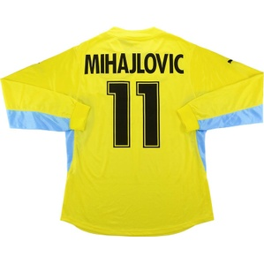2001-02 Lazio Player Issue Away L/S Shirt Mihajlovic #11 *w/Tags* XL