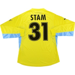2001-02 Lazio Player Issue Away L/S Shirt Stam #31 *w/Tags* XL
