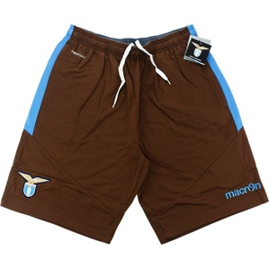 2015-16 Lazio Macron Training Sweat Shorts *BNIB*