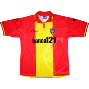 2001-02 Lecce Home Shirt *Mint* XL