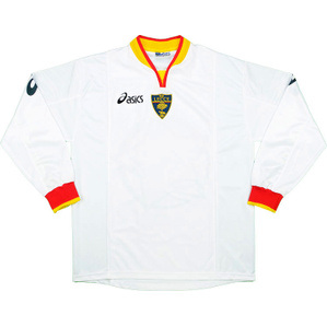 2002-03 Lecce Away L/S Shirt *As New* XL