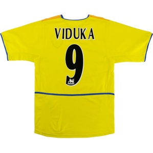 2002-03 Leeds United Away Shirt Viduka #9 (Very Good) S