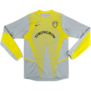2002-03 Leeds United GK Shirt (Very Good) XL.Boys