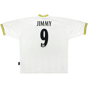 1997-98 Leeds United Home Shirt Jimmy #9 (Very Good) XL