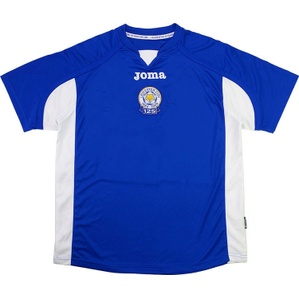 2009-10 Leicester '125 Years' Home Shirt (Very Good) XL