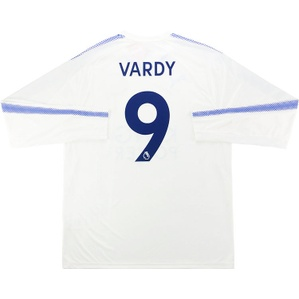 2017-18 Leicester Third L/S Shirt Vardy #9 *w/Tags*