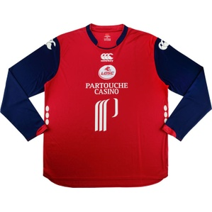 2008-09 Lille Home L/S Shirt (Excellent) XXL