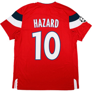 2011-12 Lille Player Issue Champions League Home Shirt Hazard #10 *w/Tags*