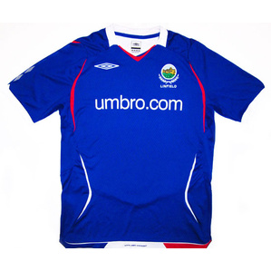 2008-09 Linfield Home Shirt XL.Boys