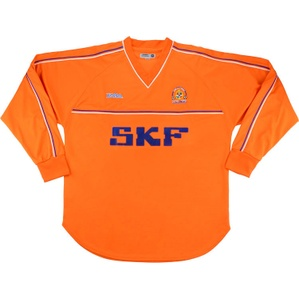 2002-03 Luton Town Away L/S Shirt (Excellent) L