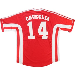 1998-99 Lyon Match Worn UEFA Cup Third Shirt Caveglia #14 (v Blackburn)