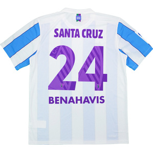 2015-16 Malaga Home Shirt Santa Cruz #24 *w/Tags*